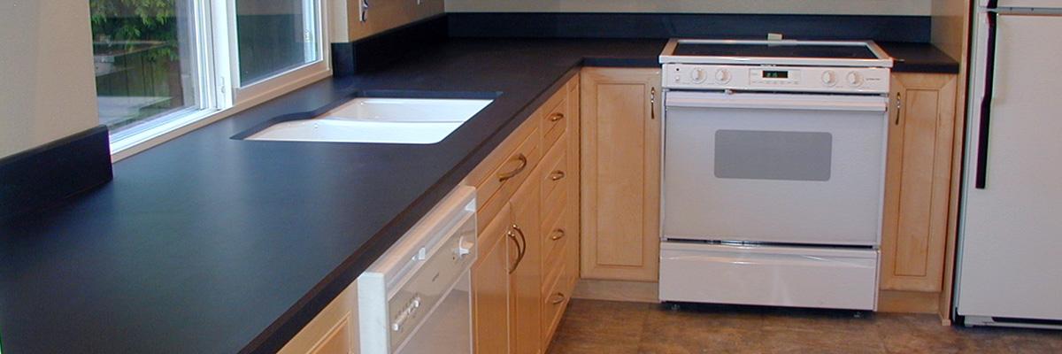 Service de comptoir carré, comptoir carré avec undermount et comptoir carré borduré à Joliette et ses environs / L'entreprise Distribution Straco